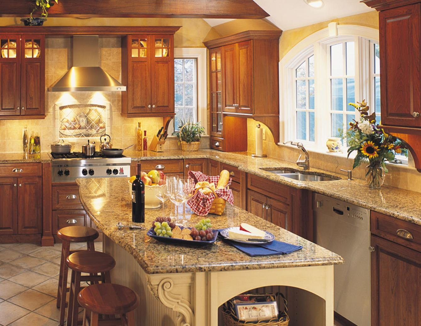 Traditional kitchen design gallery dover woods for Kitchen gallery