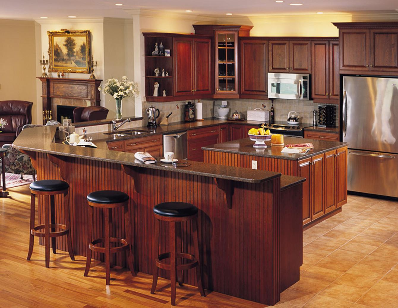 Traditional kitchen design gallery dover woods for Kitchen design gallery